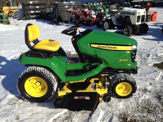 2010 John Deere X500 Lawn & Garden and Commercial Mowing ...