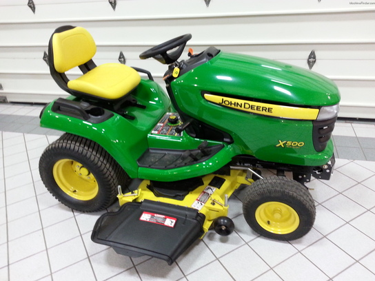 2013 John Deere X500 Lawn & Garden and Commercial Mowing ...