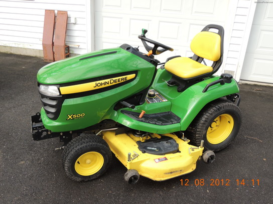 2006 John Deere X500 Lawn & Garden and Commercial Mowing ...