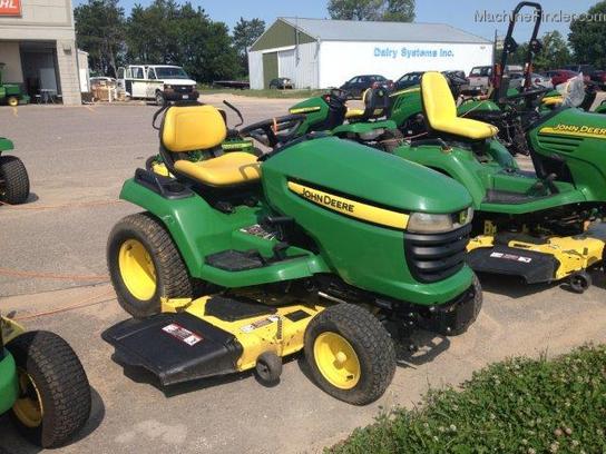 2009 John Deere X500 - Lawn & Garden Tractors - John Deere ...