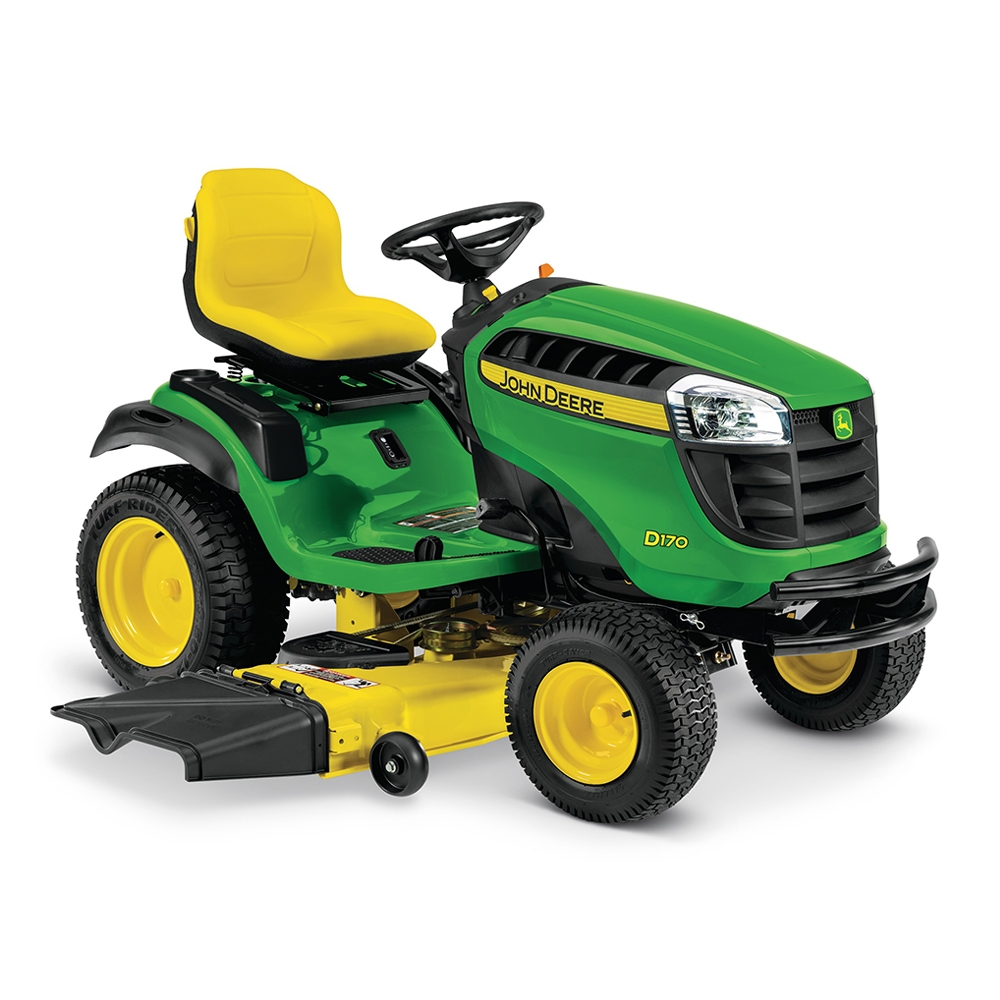 John Deere D170 25-HP V-Twin Hydrostatic 54-in Lawn ...
