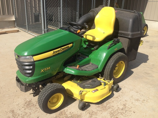 2012 John Deere X534 Lawn & Garden and Commercial Mowing ...