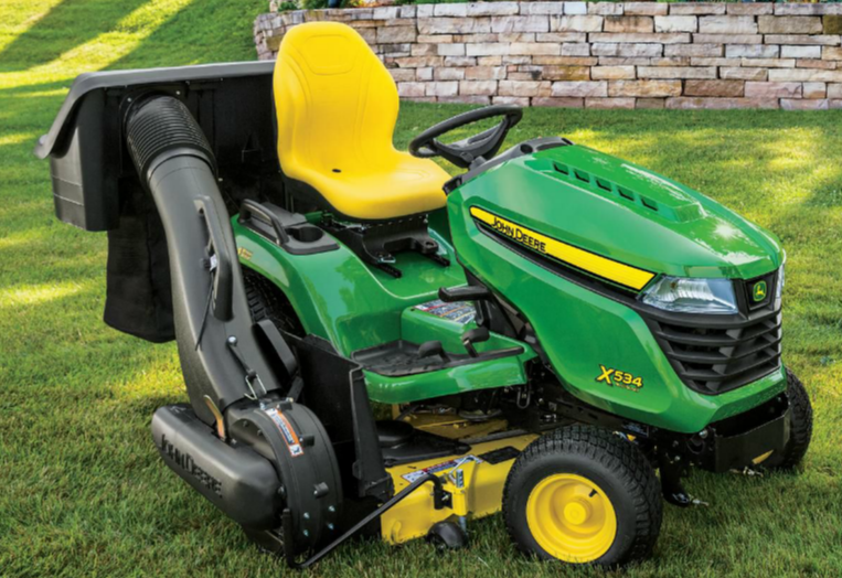 Six John Deere 4-Wheel Steering Mowers to Run Circles ...