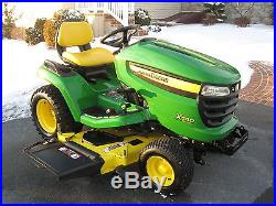 John Deere X540,26 hp. Gas, 147 hrs. 54 deck, riding mower ...