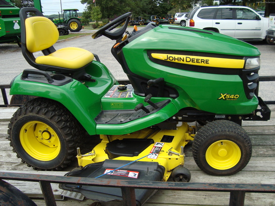 2008 John Deere X540 Lawn & Garden and Commercial Mowing ...