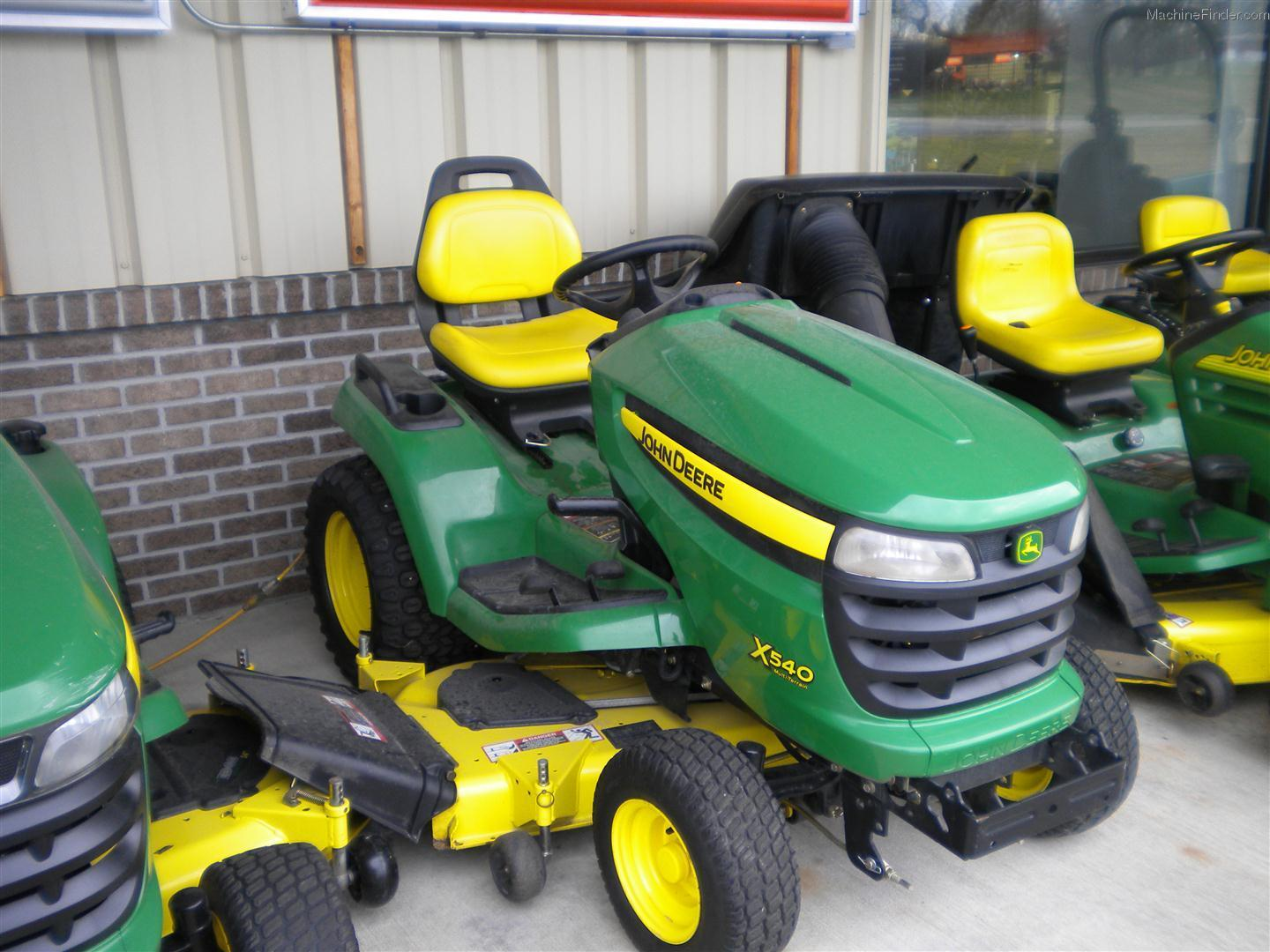 2009 John Deere X540 Lawn & Garden and Commercial Mowing ...