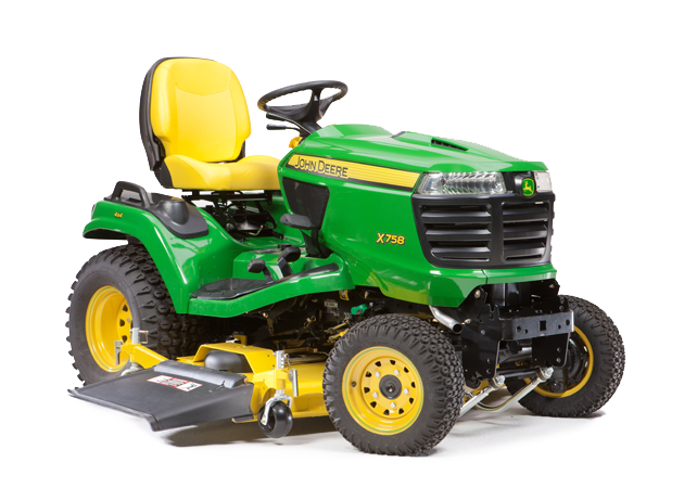Diesel Riding Lawn Mower | X758 | Signature Series | John ...