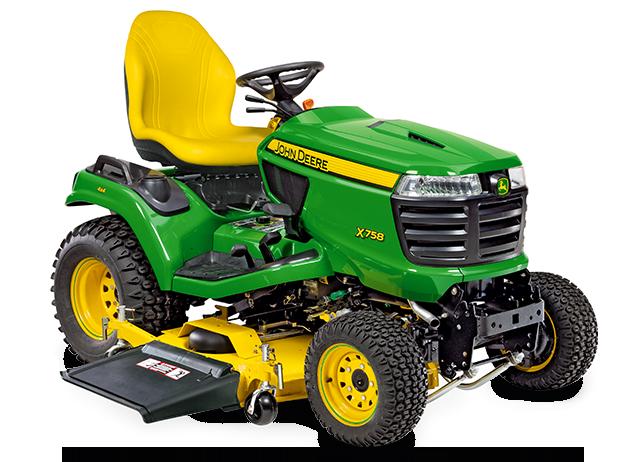 X758 | Diesel Mowing Tractors | John Deere INT