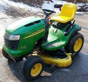 John Deere L130 Automatic 23 HP Gas Kohler V Twin Lawn ...