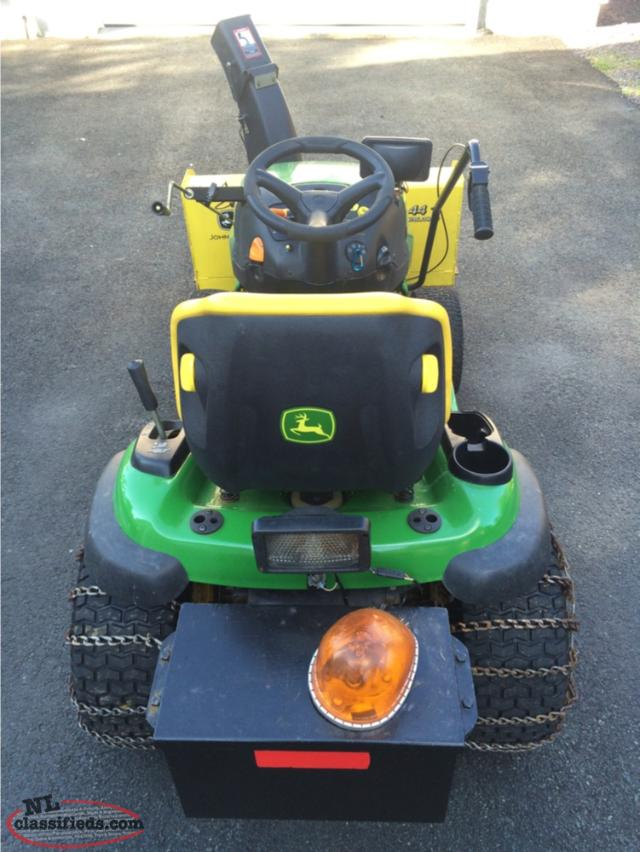 John Deere 23hp Tractor With Snowblower - Paradise ...