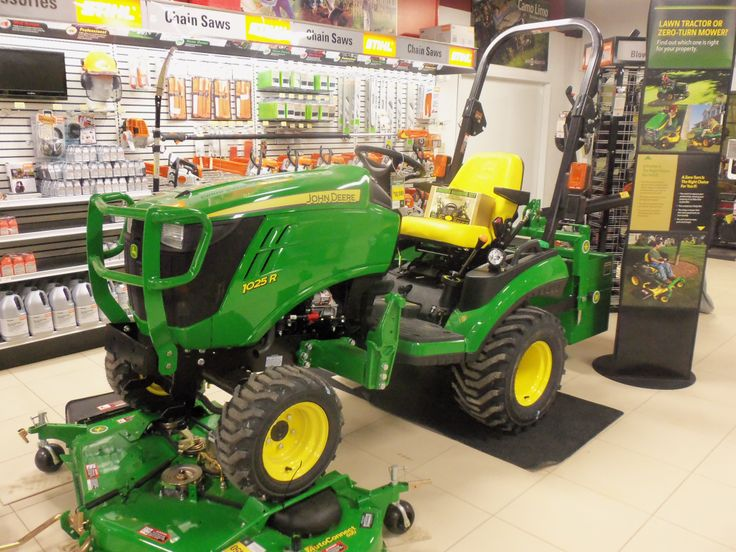 John Deere 1025R.23.9 engine hp,18 PTO from 55 cid diesel ...
