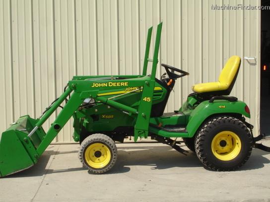 2002 John Deere X585 Lawn & Garden and Commercial Mowing ...