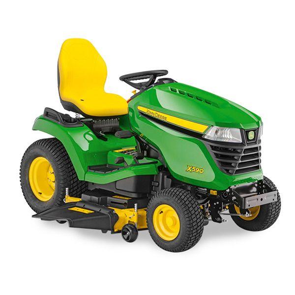 John Deere X590 Multi Terrain Lawn Tractor 48 54