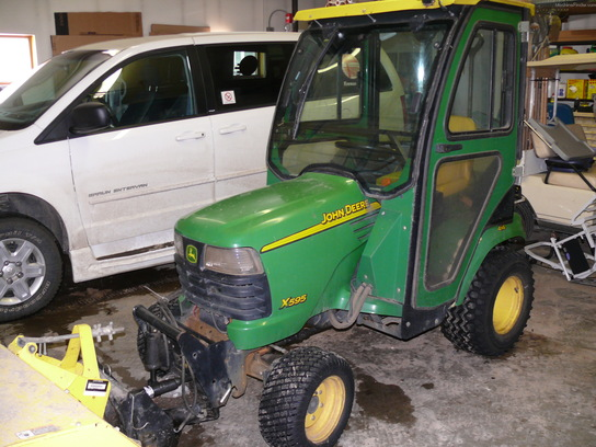 2004 John Deere X595 Lawn & Garden and Commercial Mowing ...