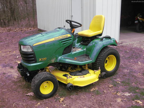 2006 John Deere X720 Lawn & Garden and Commercial Mowing ...