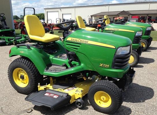 2012 John Deere X724 - Lawn & Garden Tractors - John Deere ...