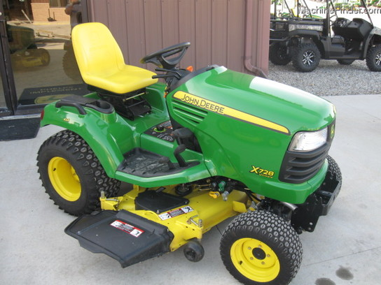2011 John Deere X728 Lawn & Garden and Commercial Mowing ...