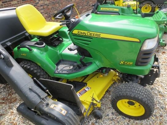 2008 John Deere X729 Lawn & Garden and Commercial Mowing ...