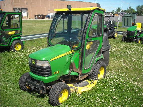 John Deere X729 - Year: 2009 - Compact tractors - ID ...
