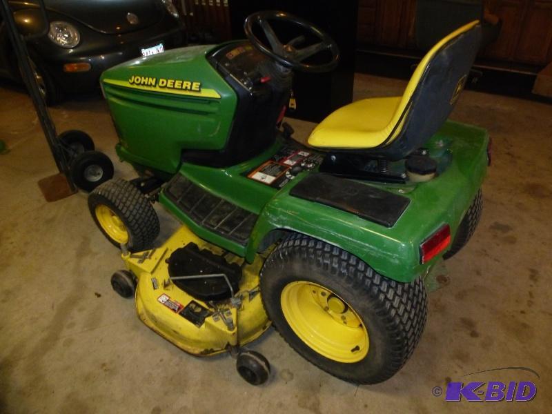John Deere 345 Lawn Tractor: Has 27 hp ... | NCS 05 ...