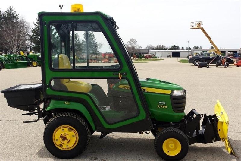 JOHN DEERE X734 Riding Lawn Mower for Sale on ...