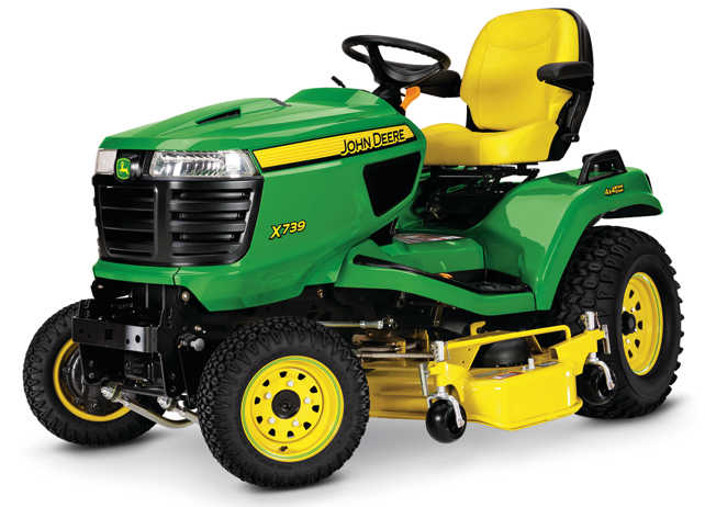 4-Wheel Steering Lawn Tractor | X739 | Signature Series ...