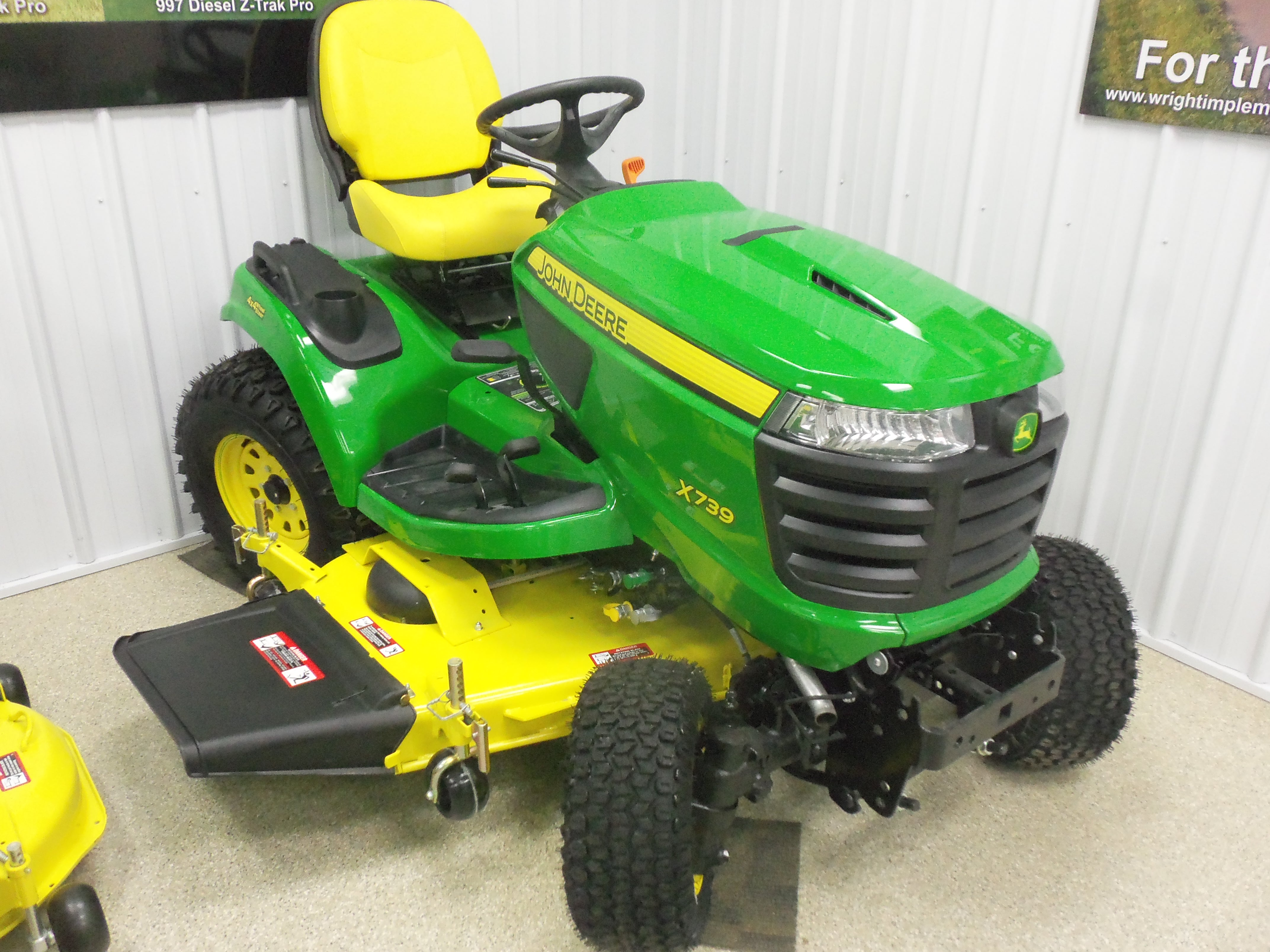 25.5 hp John Deere X739 | John Deere equipment | Pinterest