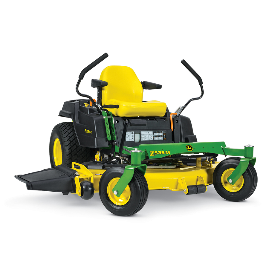 Shop John Deere Z535M 25-Hp V-Twin Dual Hydrostatic 62-in ...