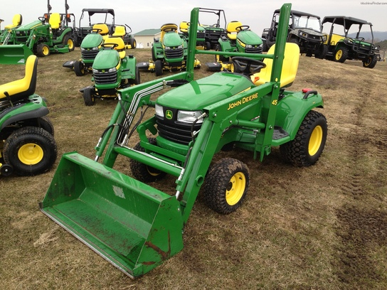 2012 John Deere X748 Lawn & Garden and Commercial Mowing ...