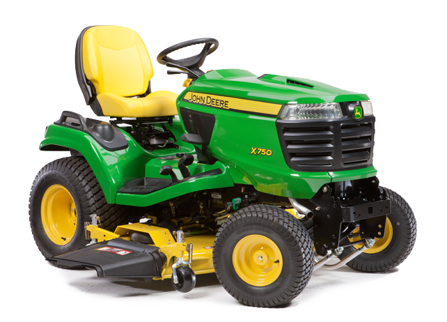 John Deere X750 Signature Series Tractor JohnDeere.com