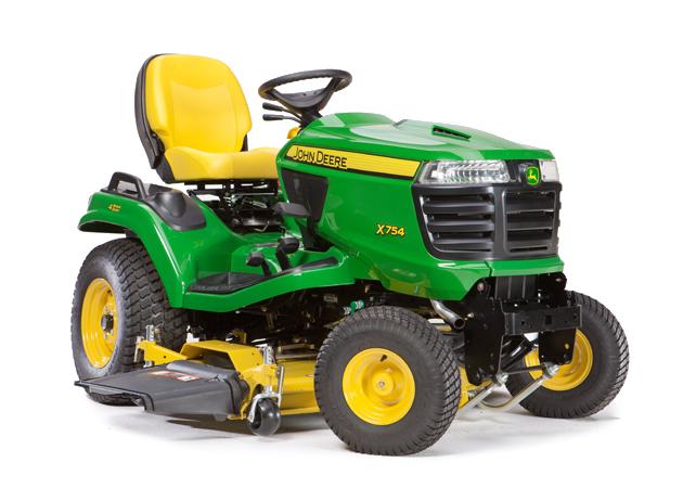 John Deere X700 Signature Series Lawn Tractors | Holland ...