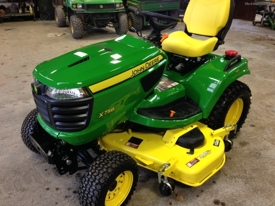 2013 John Deere X758 Lawn & Garden and Commercial Mowing ...