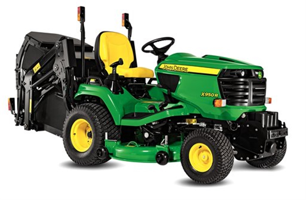 Lawn Mowers and Garden Machinery - Lawn Tractors - Rear ...