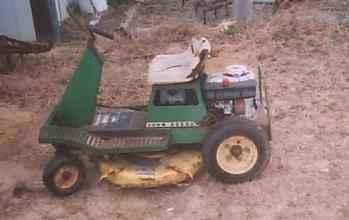 Used Farm Tractors for Sale: John Deere 55 Lawn Mower ...