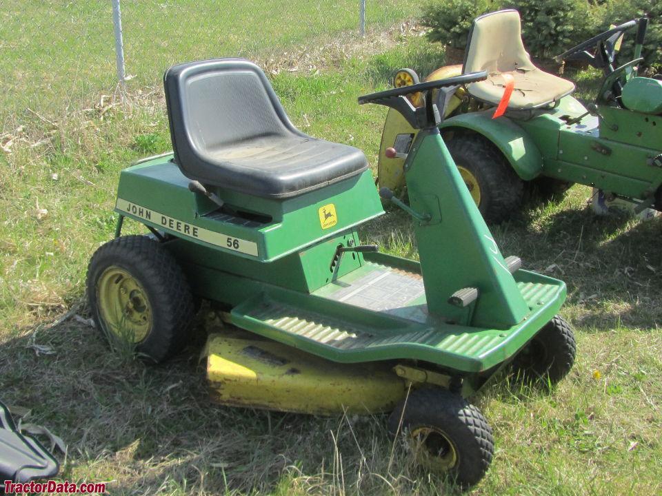 TractorData.com John Deere 56 tractor photos information