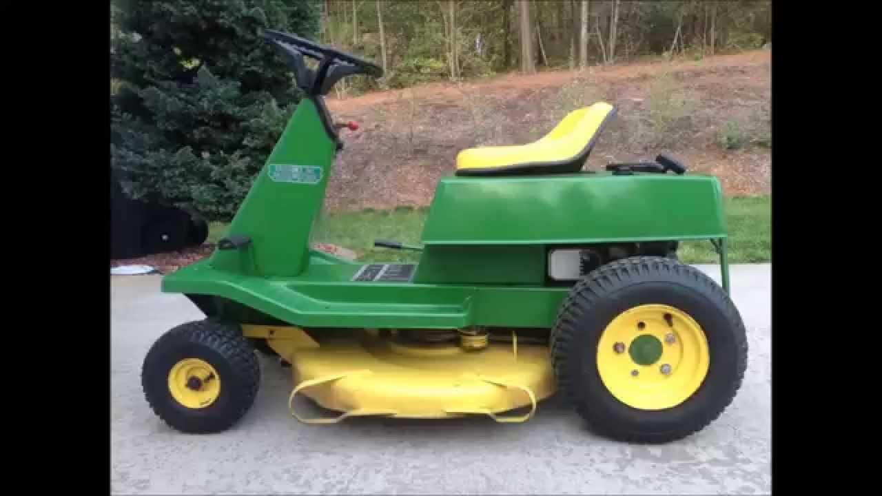 1974 John Deere Lawn Mower Model 56 - YouTube