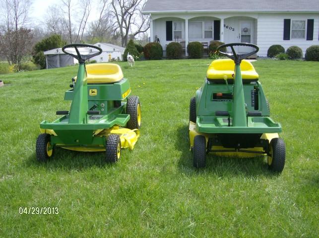 John Deere 56 & 68 Riding Mowers (Trenton, Mo) - Tractors ...
