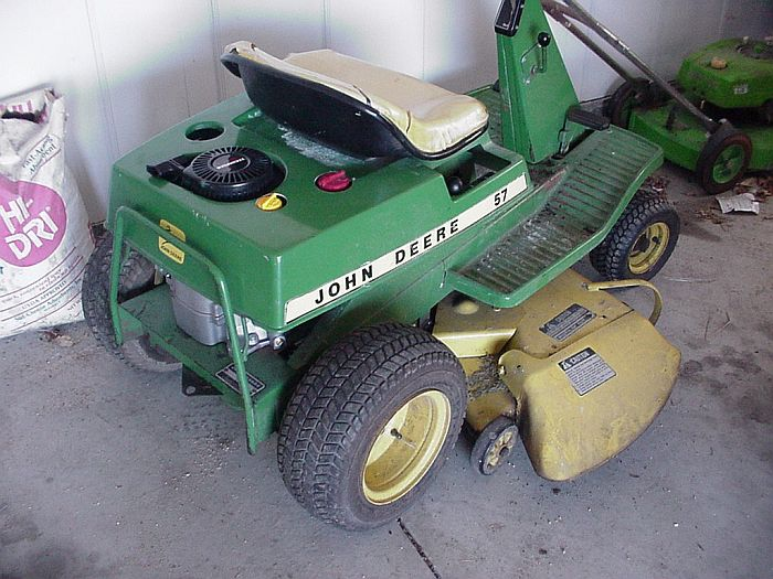 The Dale Maley Family Web Site - Saving the John Deere 57
