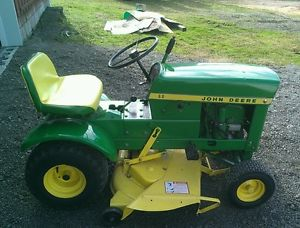 John Deere 60 Riding Lawn Tractor Mower   eBay