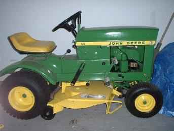 Used Farm Tractors for Sale: John Deere 60 Lawn Tractor ...