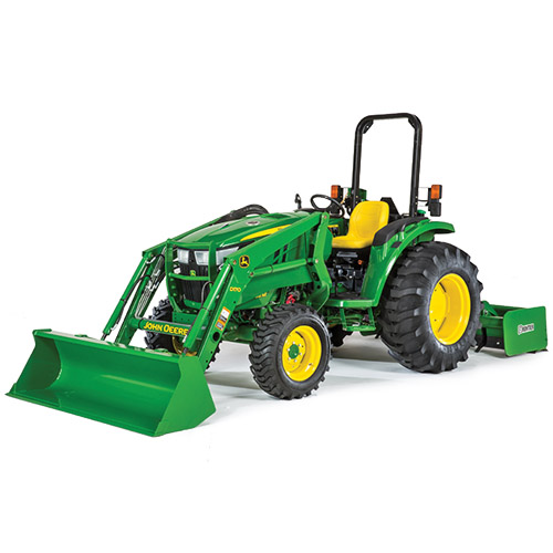 John Deere 4066M 65-HP Compact Utility Tractor - AG-POWER