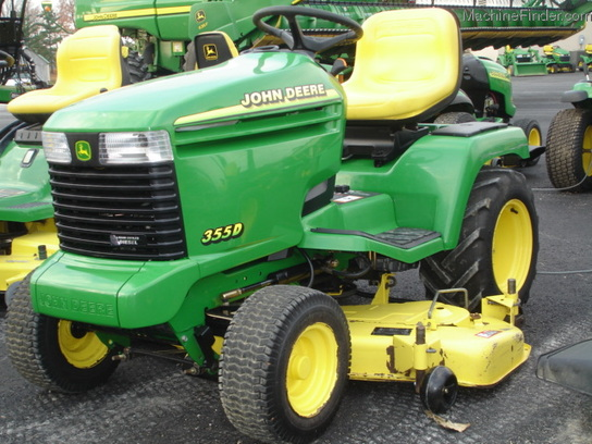 2000 John Deere 355 Lawn & Garden and Commercial Mowing ...