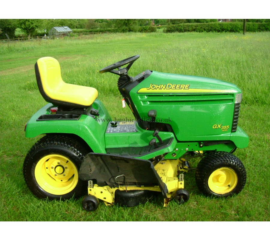 Used John Deere GX355 Lawn tractor for sale UK,John Deere ...