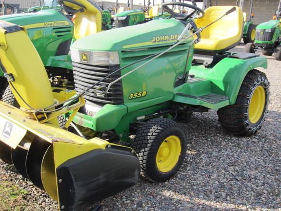 2000 John Deere 355 - Lawn & Garden Tractors - John Deere ...