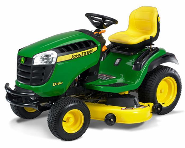 John Deere 100 Series Lawn Tractor D160
