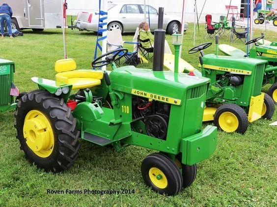JOHN DEERE 110 Lawn Tractor | Tractors | Pinterest | Best ...