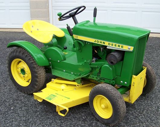 1963 JD 110 Garden Tractor Sold for $2,300