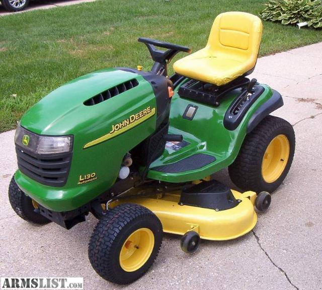 ARMSLIST - For Sale/Trade: 2003 John Deere L130 Lawn ...