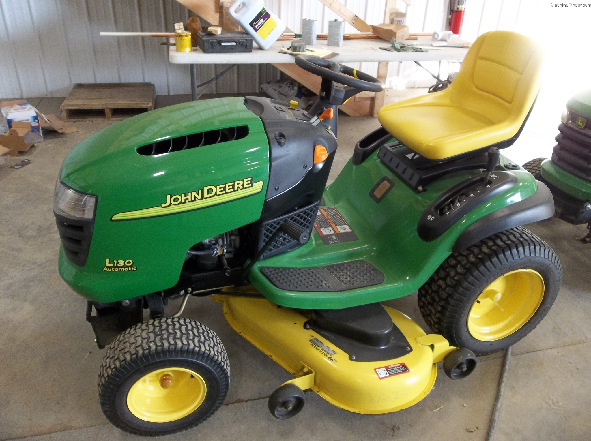 2005 John Deere L130 Lawn & Garden and Commercial Mowing ...