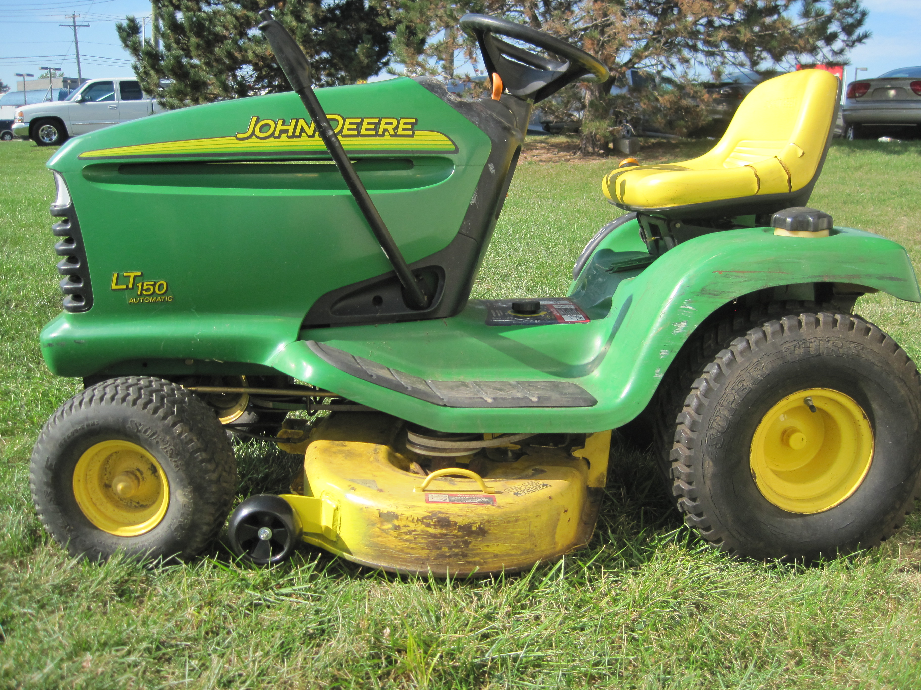 John Deere Lt150: John Deere 150 - e-cighq.com